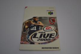 NBA LIVE 2000 (N64 EUR MANUAL)