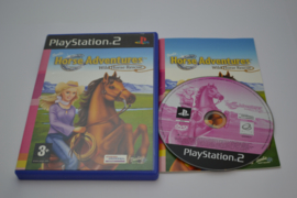 Barbie Horse Adventures - Wild Horse Rescue (PS2 PAL CIB)