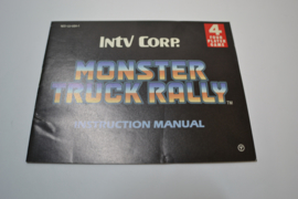 Monster Truck Rally (NES USA MANUAL)