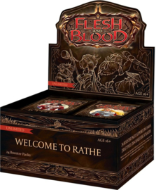 Flesh & Blood TCG - Welcome to Rathe Unlimited Booster Box - SEALED