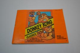 Donkey Kong Classics (NES FRA MANUAL)