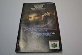 Perfect Dark (N64 NEU6 MANUAL)