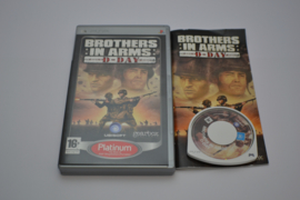 Brothers in Arms - D-Day - Platinum (PsP PAL CIB)