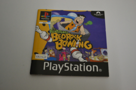 The Flintstones Bedrock Bowling (PS1 PAL MANUAL)