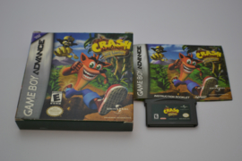 Crash Bandicoot The Huge Adventure (GBA USA CIB)
