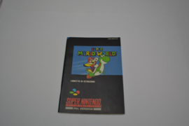 Super Mario World (SNES ITA MANUAL)