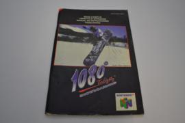1080 Snowboarding (N64 NEU4 MANUAL)