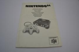 Nintendo 64 (64 FAH Manual