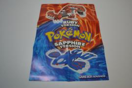 Pokemon Ruby / Sapphire Version Poster