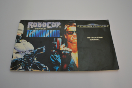 Robocop Versus The Terminator (MD MANUAL)