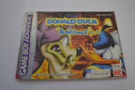 Donald Duck - Advance (GBA EUR MANUAL)