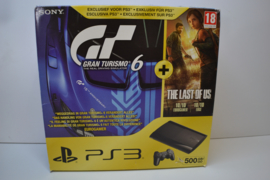 Playstation 3 Super Slim 500 gb Console Set