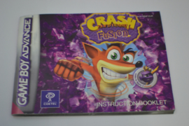 Crash Bandicoot - Fusion (GBA EUR MANUAL)