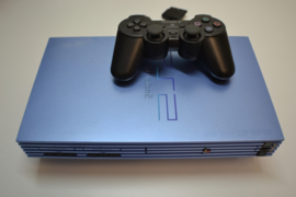 Sony PlayStation 2 Aqua Blue console set FAT  (USED)