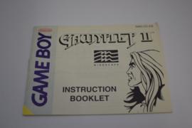 Gauntlet II (GB ASI MANUAL)