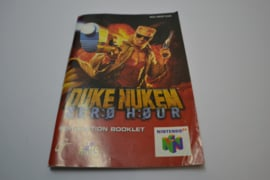 Duke Nukem Zero Hour (N64 EUR MANUAL)