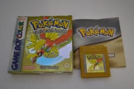 Pokemon Gold Version (GBC NHAU CIB)