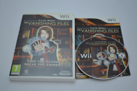 Cate West Vanashing Files (Wii UKV CIB)