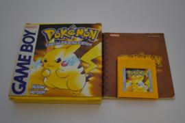 Pokemon Yellow Version (GBC EUR CIB)