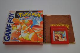 Pokemon Red Version (GBC EUR CIB)