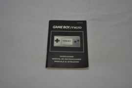 GameBoy Micro Manual (GB EUR MANUAL)