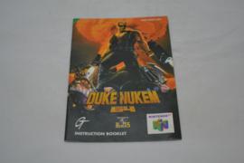 Duke Nukem 64 (N64 UKV MANUAL)