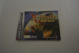 X-bladez (GBA EUR MANUAL)