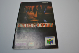Fighters Destiny (N64 EUR MANUAL)