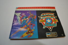 Captain America and the Avengers (NES FRG MANUAL)