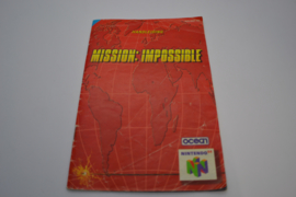 Mission: Impossible (N64 HOL MANUAL)