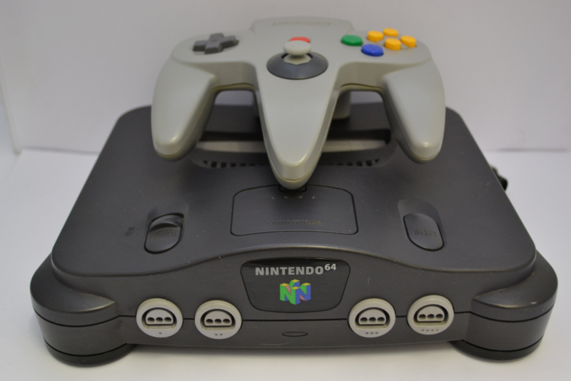 Nintendo 64 (charcoal Grey)  With Expansion Pak