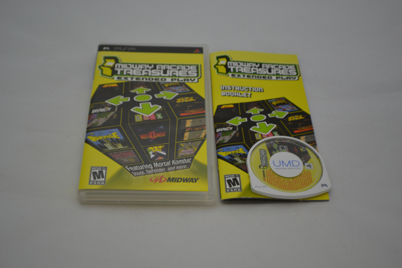 Midway Arcade Treasures: Extended (PSP NTSC)