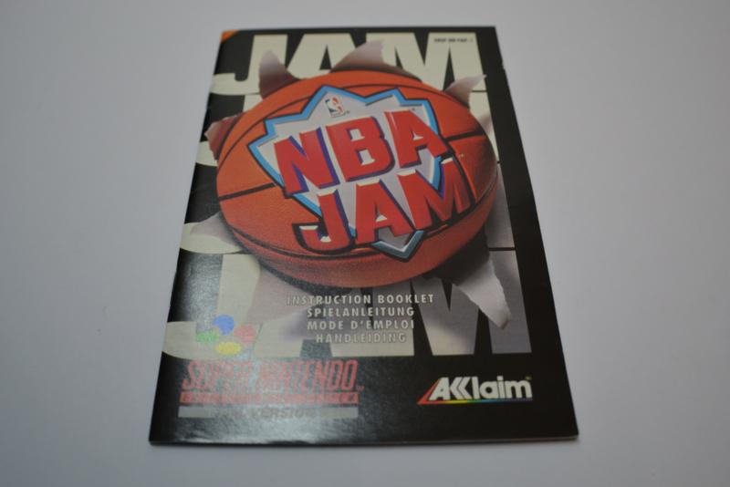 NBA Jam (SNES FAH MANUAL)