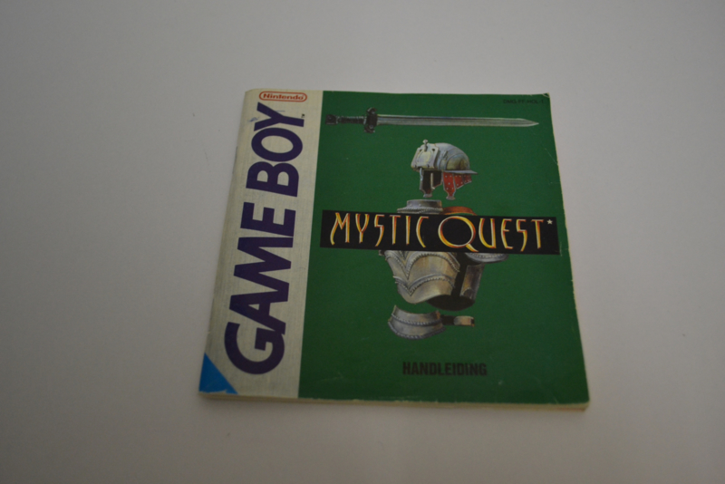 Mystic Quest (GB HOL MANUAL)