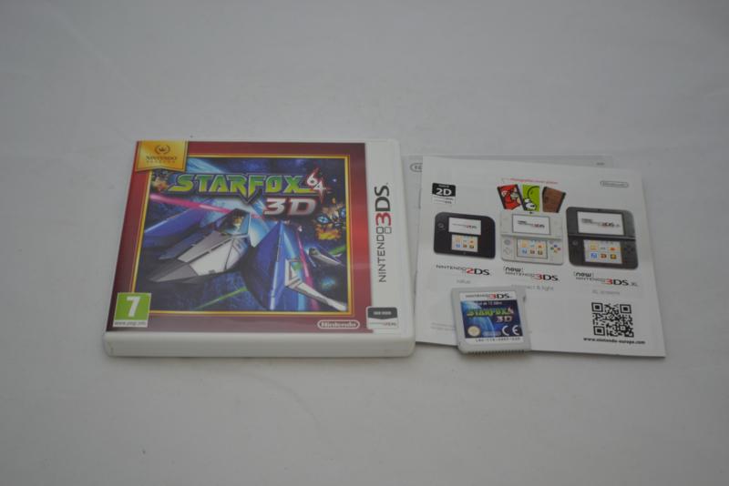 Star Fox 64 3D (3DS HOL CIB)