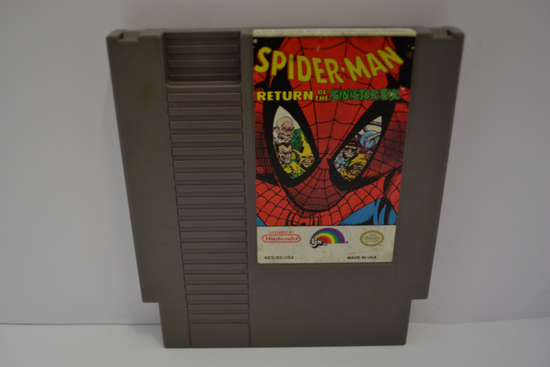 Spider man Return Of The Sinister Six (NES USA)