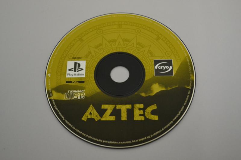 Aztec (PS1 PAL DISC)