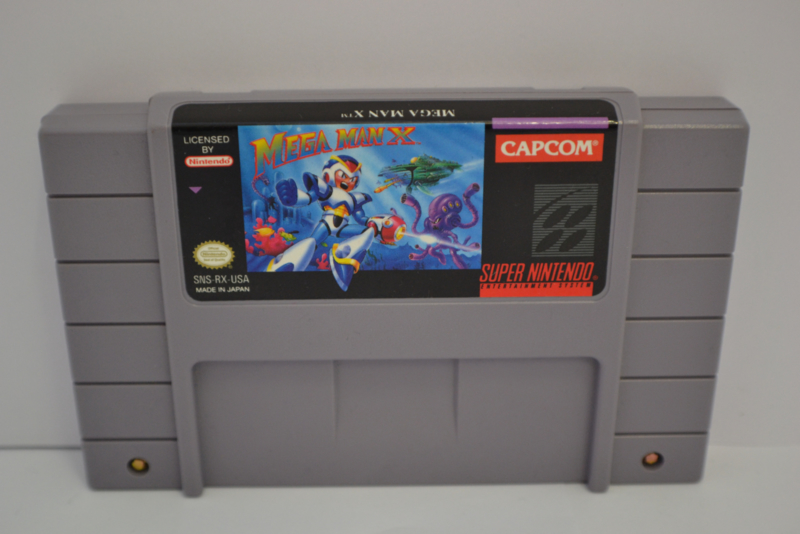 Mega Man X (SNES USA)