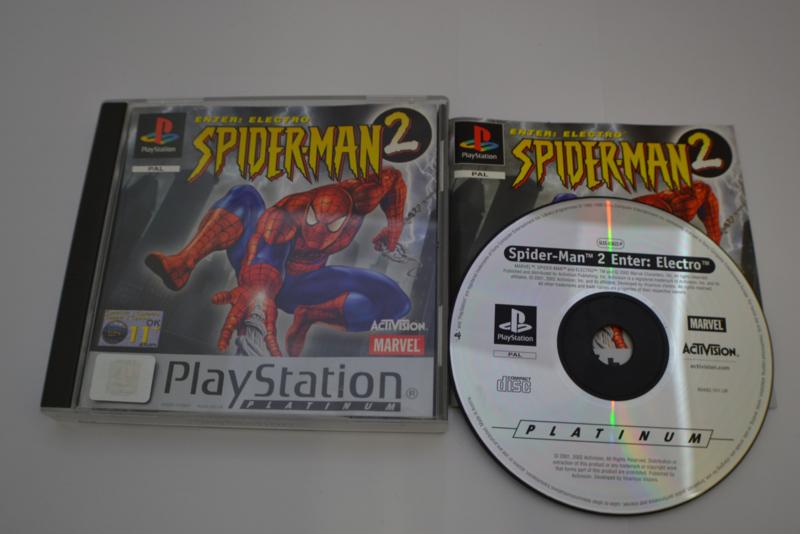 Spider-Man 2 - Platinum (PS1 PAL)