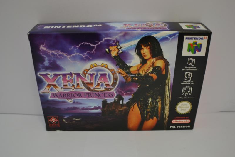 Xena Warrior Princess  - NEW (N64 EUR)