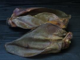 Runderoren met vlees/schelp per 25