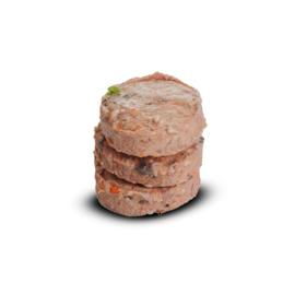 PETT puur vleesschijven paard-eend 900 gram
