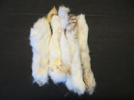 PETT konijnenoren met vacht 100 gram