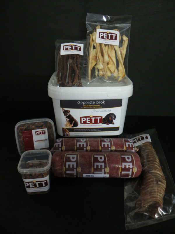 PETT  volwassen hond pakket