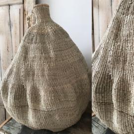 Mooie handgemaakte vaas uit Afrika/verkocht