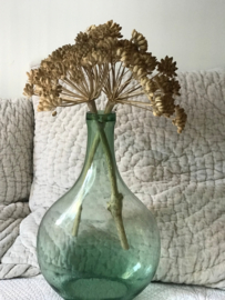GROENE FLES VAN GEREYCLED GLAS