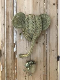 Dierenkop van zeegras hand en fairmade