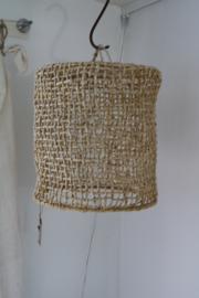 ROTAN LAMP HAND EN FAIRTRADE GEMAAKT MAAT M