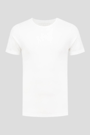 Essential Luxe Crew Neck Bamboo T-Shirt White