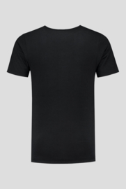 Essential Crew Neck Bamboo T-Shirt Black